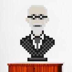 puxxle — Sigmund #puxxle #freud #puzzle #pixel #art #sigmund #game #8bit