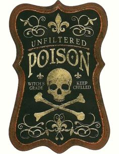 RELIC #relic #label #nyc #skull #poison