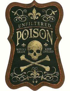 RELIC #relic #label #nyc #skull #poison