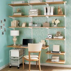 elfa desk | Flickr - Photo Sharing! #interior #design #furniture #desk #workspace