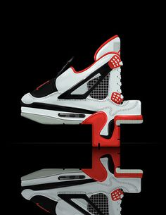 It really is all about the shoes, even in typography #air #shoes #jordan #typography