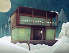 DESIGN A EMPORTER - justin mezzell #cabin #illustration