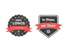 Dribbble - In Love With Shapes stickers by Filip Pietroń #pietron #vector #shapes #filip #logo