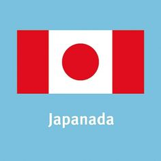 Japanada #canada #flag #up #mash #japan #national