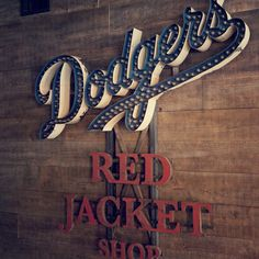 Gallery Sideshow Sign Co. #type #dodgers #sideshow sign co