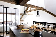 Loft in Paris by Margaux Beja - #decor, #interior, #home