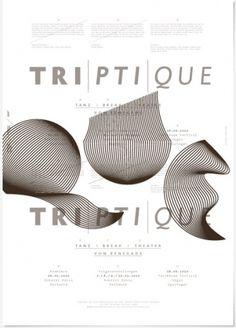 triptique / Raffael Stüken / Büro für Grafik Design #poster