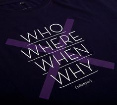 NATRI - cross type - T-Shirt (navy blue): WHO, WHERE, WHEN, WHY - WHATEVER