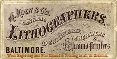 VintageLithographers #victorian #lithography #card #trade #vintage