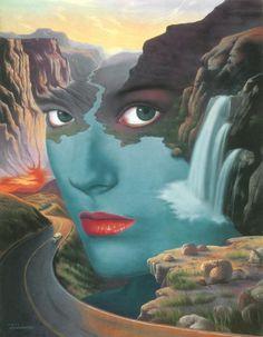 Surrealistic Fantasy Paintings by Jim Warren #jim #fantasy #warren #paintings #surrealistic