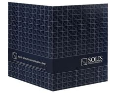 Solis Wealth Management Folder Design