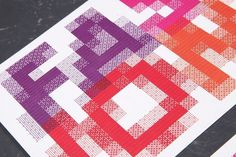 Fashion Pixel Type 2 #fashion #pixelated #pixel #typography