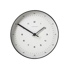 Max Bill Wall Clock #clock #minimal