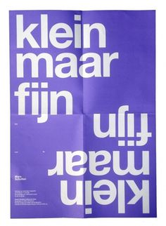 almost Modern : Small but Sweet #helvetica #poster #typography