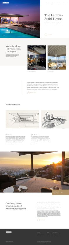 Stahl house — Website
