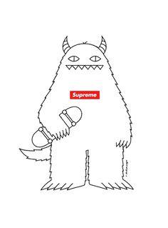 the Hypebeast #illustration