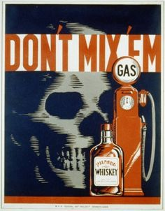 Anti-drunk driving PSA from 1930s - Boing Boing