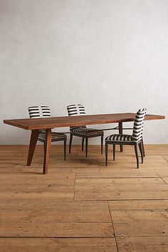 Rough-Hewn Dining Table, Anthropologie