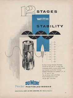 DuMont Ad | Flickr - Photo Sharing! #illustration #vintage #graphic #page
