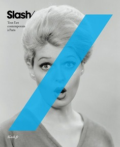 Slash Typography Poster