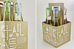 Cocktail Sodas (Student Project) on Packaging of the World - Creative Package Design Gallery #packaging #bottles #branding