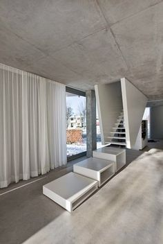 H House by Wiel Arets Architects #interior #stairs #design
