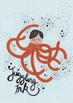 Michelle Carlslund illustration JugglingInk!