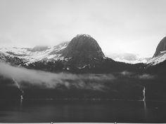 Tracy Arm, Canada. #nick #fog #water #alaska #sickelton #glaciers #ice #nicksickeltoncom #mountains