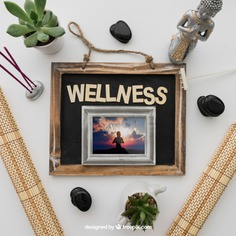 Wellness decoration with frame Free Psd. See more inspiration related to Frame, Mockup, Spa, Health, Cute, Yoga, Chalkboard, Mock up, Plant, Decoration, Cactus, Bamboo, Healthy, Decorative, Peace, Buddha, Mind, Balance, Relax, Pot, Meditation, Wellness, Healthy lifestyle, Lifestyle, Up, Tablecloth, Stones, Relaxation, Composition, Mock, Peaceful and Inner on Freepik.
