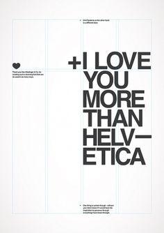 Un peu d'air sur la terre #helvetica #poster #typography
