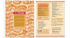 Brand Identity | Frank | Helms Workshop #yellow #retro #red