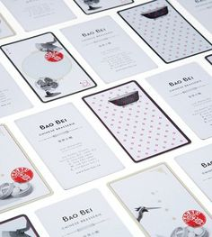 Bao Bei Chinese Brasserie : Lovely Stationery . Curating the very best of stationery design #print #cards #business