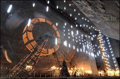 #SalinaTurda - This Underground Park Inside a Romanian Salt Mine Looks Incredible