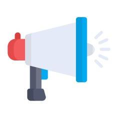 See more icon inspiration related to shout, bullhorn, promotion, protest, announcer, announcement, loudspeaker, electronics, megaphone, communications and marketing on Flaticon.