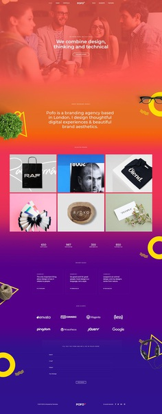 Pofo - #Creative #Portfolio and #Blog #WordPress Theme for Creative #Designer by #ThemeZaa