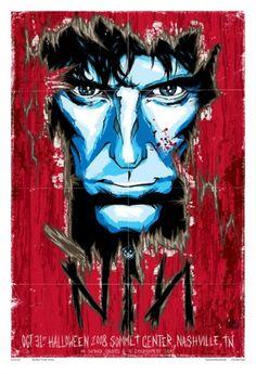 GigPosters.com - Nine Inch Nails #nin #design #illustration #rhys #poster #cooper