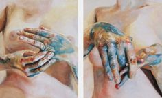 Paintings by Cara Thayer & Louie Van Patten | PICDIT #painting #art