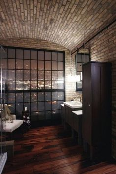 CJWHO ™ #design #interiors #bathroom #wood #penthouse #architecture #luxury