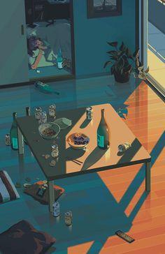 gif #sake #illustration #alcohol #booze