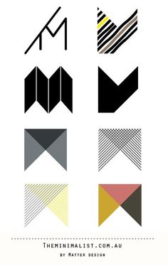 The branding story behind The Minimalist Store. | Creative #logotype #brand #identity #minimal #minimalist