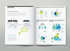 Steelcase 360 Magazine Infographics on Behance #editorial