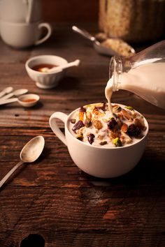 Hot Cereal Breakfast by Leslie Grow #photography #food #breakfast