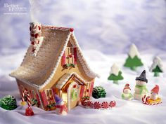 Gingerbread House Decorations #gingerbread