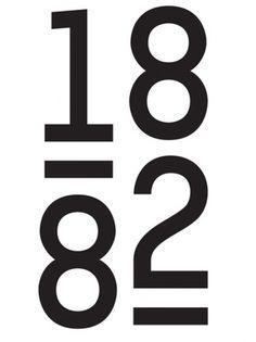 1882 corporate identity #logo #typography