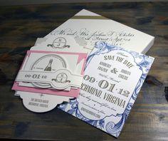 Wedding Suite on Behance #letterpress