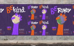 Taller Design Agency Rowdy Kind Fly posters
