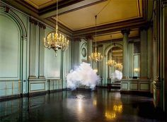 "CJWHO â""¢ (Artist Berndnaut Smilde Creates Amazing Indoor...) #clouds #smoke #frozen #installation #design #interiors #photography #art"