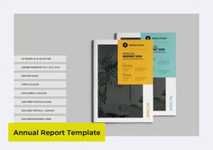 Annual Report Template by World Print