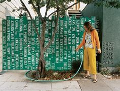 the-dwight-way-house-street-sign-fence-portrait.jpg (643×487) #wayfinding #sign #home #typography