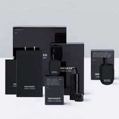 Inkvader Perfume Collection on Packaging of the World - Creative Package Design Gallery #packaging #branding #perfume